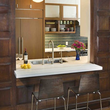Traditional Kitchen by Laurie Lieberman Architects
