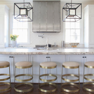 Transitional kitchen ideas - Transitional kitchen photo in Charlotte