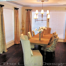 Traditional Dining Room by The Luxe Designer