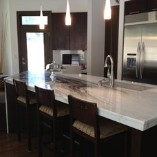 Contemporary Kitchen by Archway Construction