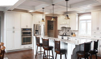 Direct Depot   Two-Toned White Kitchen