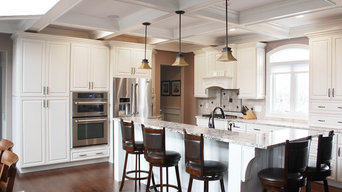 Direct Depot | Two-Toned White Kitchen