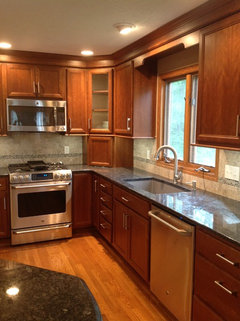 Should I paint my cherry wood cabinets white?