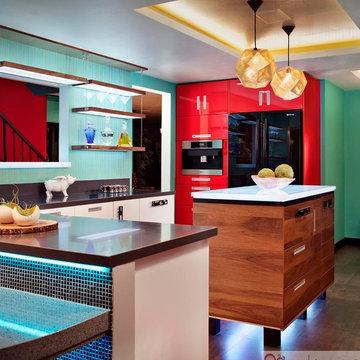 Disco Modern Kitchen