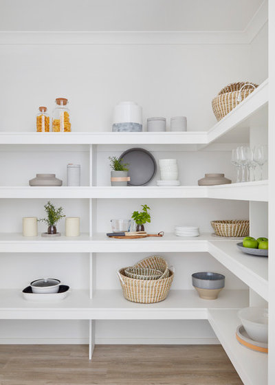 Kitchen Conundrum Walk In Vs Cabinet Pantries