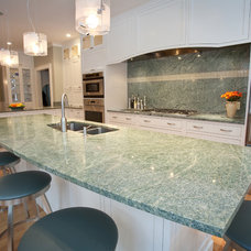 Contemporary Kitchen Countertops by Select Stone