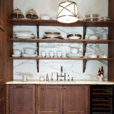Traditional Kitchen by Morgan Creek Cabinet Company