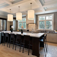 Transitional Kitchen by SMART Construction Group, Ltd.