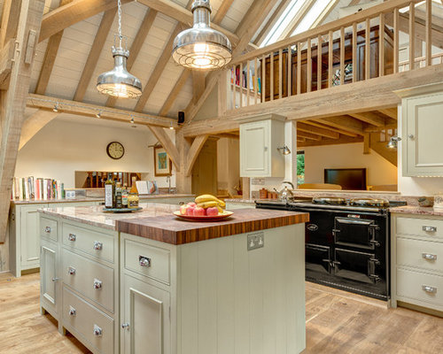 Timber Frame Kitchen Houzz