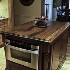 Traditional Kitchen Countertops by J. Aaron