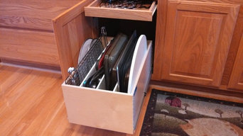 Divided Pull Out Shelf