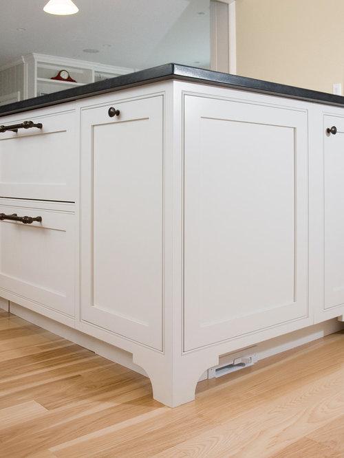 Beach house - Kitchen cabinet toe kick options ...