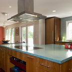 Bamboo Paint Mix Contemporary Kitchen Austin By