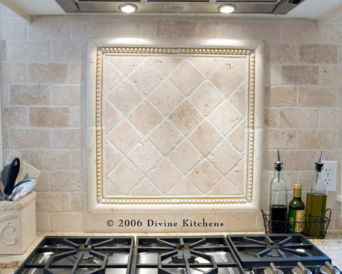 Kitchen Traditional Backsplash Ideas