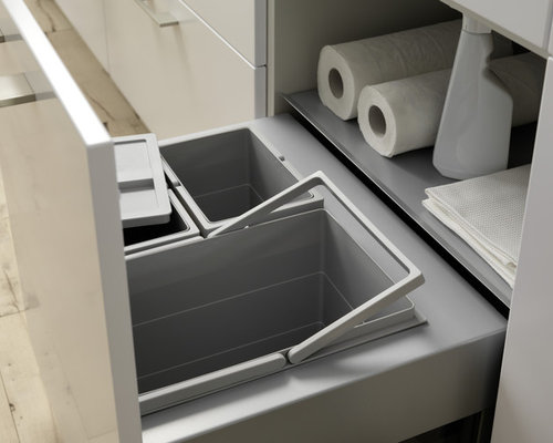 Kitchen Trash Bin Target: In-Counter Compost Bin Ideas, Pictures, Remodel And Decor