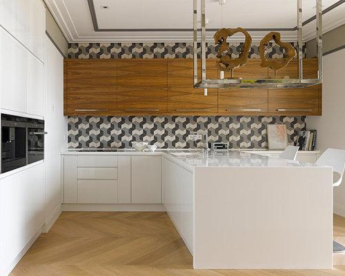 geometric backsplash ideas pictures remodel and decor