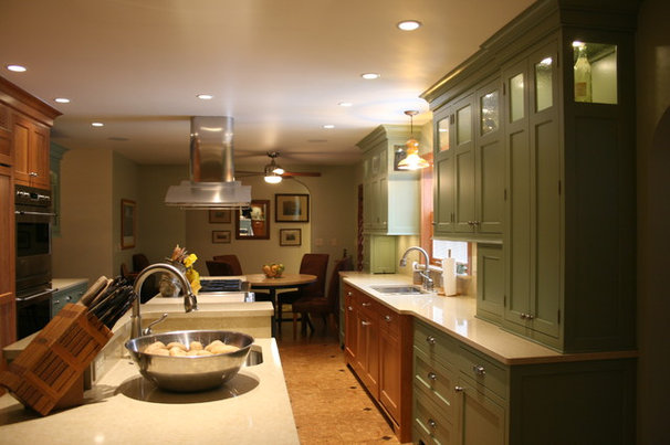 Traditional Kitchen by Kimberly Arnold Fletcher