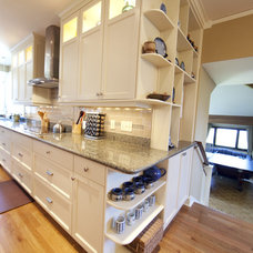 Traditional Kitchen by Dodges Classic Carpentry Co