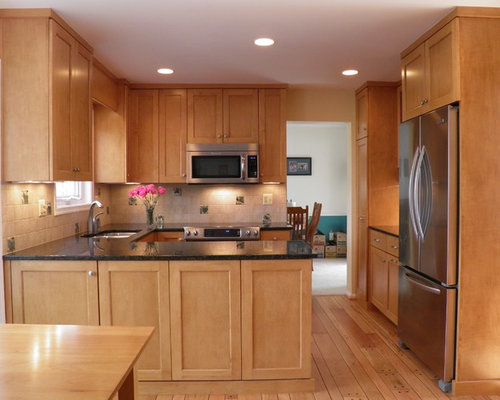 Granite Countertops Maple Cabinets Ideas Pictures
