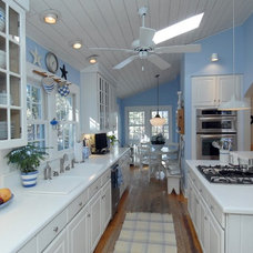 Eclectic Kitchen by EMW Architecture