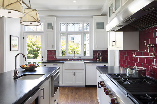 Victorian Kitchen by John Lum Architecture, Inc. AIA