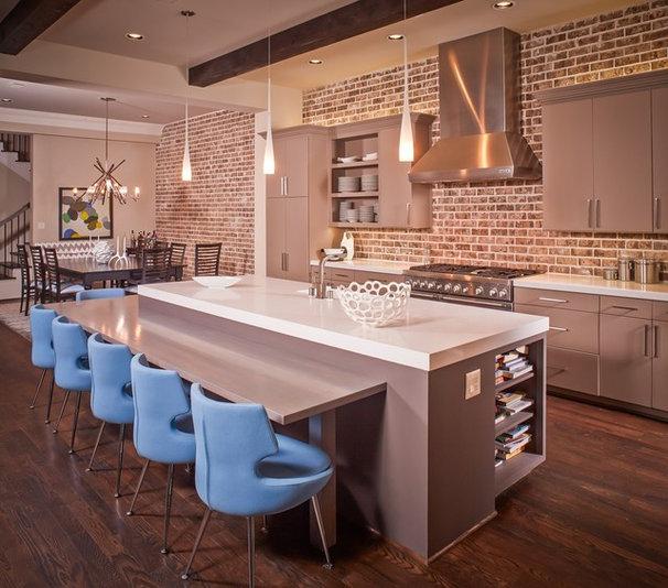 Contemporary Kitchen by Jamestown Estate Homes