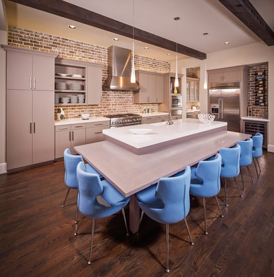 Yes, You Can Use Brick in the Kitchen