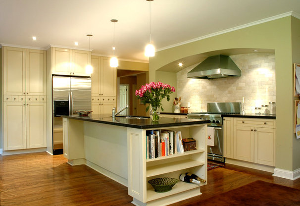Traditional Kitchen by Bravehart Design Build