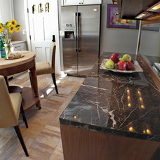 Eclectic Kitchen by Donna DuFresne Interior Design
