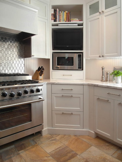Transitional Kitchen by Donna DuFresne Interior Design