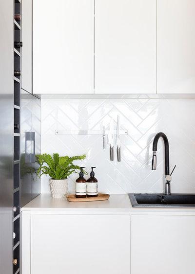 Coastal Kitchen by The Design Villa