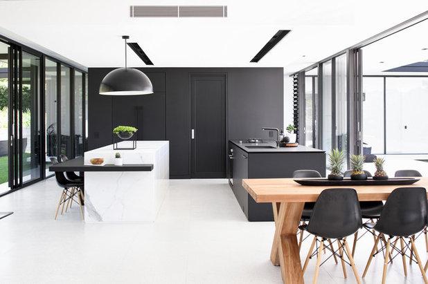 Contemporary Kitchen by Sarah Waller Design