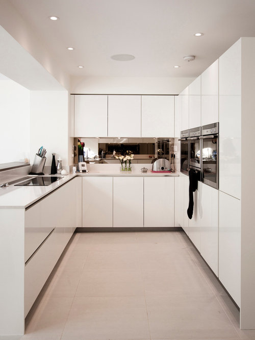 Small condo kitchen houzz for Small kitchen designs for condos