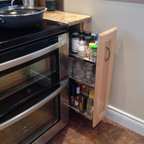 Dorval Kitchen with portable baking station - Transitional ...