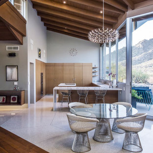 DOS HOMBRESA major kitchen remodel to a spectacular mid-century residence in the