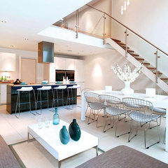 modern kitchen by LLI Design