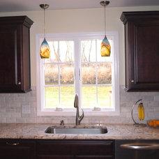 Traditional Kitchen by KraftMaster Renovations