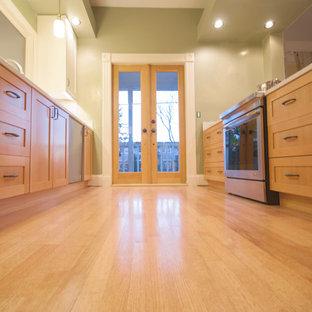 Douglas Fir Shaker Ikea doors & Kitchen Remodel Portland Oregon