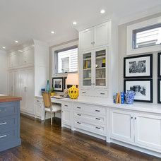 Transitional Kitchen by Cardea Building Co.
