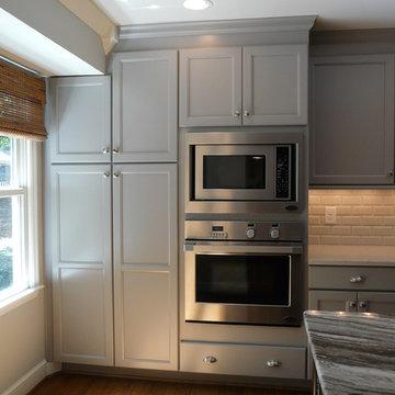 Dove Gray kitchen- Lovette Construction