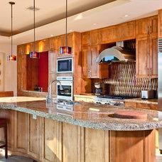 Traditional Kitchen by Mark Alan Development, LLC