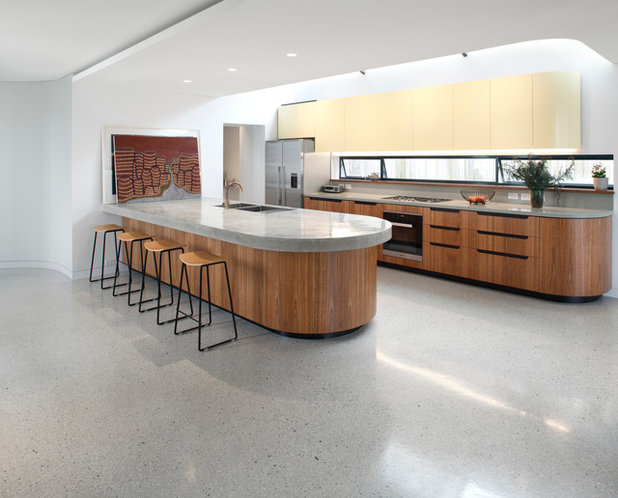 Contemporary Kitchen by Zeitgeist Photography