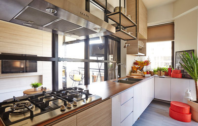 Houzz Tour: A Two-Bedroom Flat Gets a Dramatic Makeover