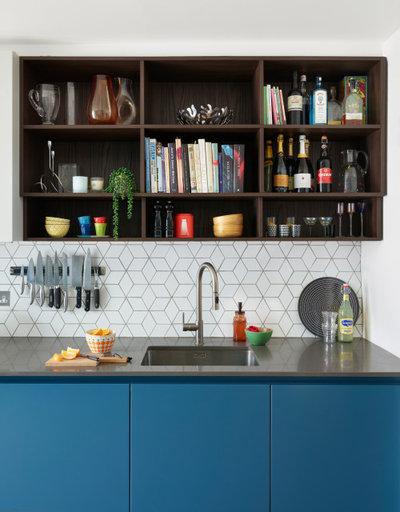 Contemporary Kitchen by E2 Architecture + Interiors Ltd