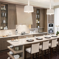 Contemporary Kitchen by Audacia Design Downsview Kitchens
