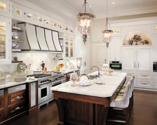 White Cabinet Kitchen Ideas, Pictures, Remodel and Decor