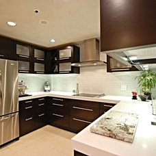 Contemporary Kitchen by Decorum Stone