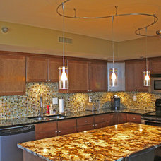 Traditional Kitchen by Skyline Window Coverings & Design