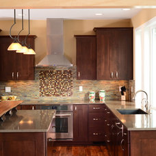 Traditional Kitchen by Habitations Interior Design