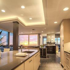Contemporary Kitchen by Kitchen Design Studio, Inc.